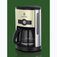 Russell Hobbs 18498 Heritage Filter Coffee Maker - Cream