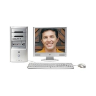 Pavilion Desktop Computer - AMD Athlon 64 3800+ 2.4GHz (1 GB RAM - 200 GB HDD - NVIDIA 256 MB Graphics - Genuine Windows XP Media Center Edition 2005)