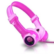 JLab Kid's Volume Limiting Headphones For Kindle Fire - Pink