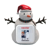 Nextar RPF-1503 1.5-Inch Digital Photo Frame Figurine (Snowman, White)