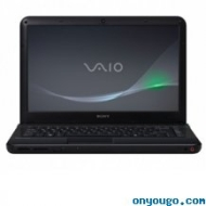 REFURBISHED - Sony Vaio VPC-EA3BFX/BJ Notebook PC - Intel Core Dual-Core i3 370M 2.4 GHz Processor - 4 GB RAM - 320 GB Hard Drive - 14-inch LCD Displa
