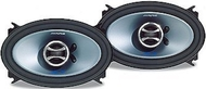 "Alpine SPS-46C2 4"" x 6"" Coaxial 2-Way Speaker features Peak Power Handling: 150W 3 / 4"" Silk Soft Dome Tweeter Aluminum Coated Polypropylene Cone Woof"