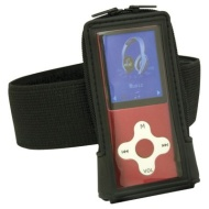 Eclipse Red 4GB MP3/Video Player with Armband
