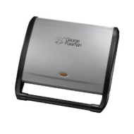 George Foreman 14054 7-Portion Entertaining Grill in Silver