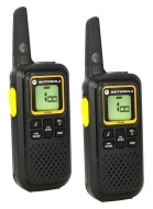 Motorola 2 Way Radio 22 Channel Up To 27 Mile Clamshell