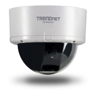 "TRENDnet SecurView PoE Dome Internet Camera TV-IP252P - Network camera - color - 1/4"" - audio - 10/100"