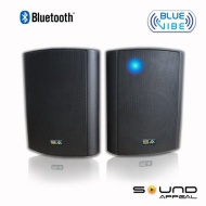 "Bluetooth 6.50"" Indoor/Outdoor Weatherproof Patio Speakers (Black- pair)- BlueVIBE by Sound Appeal"