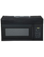 Haier HMV1630DBBB 30-inch Over-The-Range 1000 Watt Microwave Black