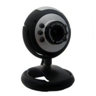 Kinobo 5 Megapixel USB Webcam for Ubuntu / Linux / Unix Laptop Desktop