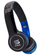 SOUL by Ludacris SL100UB Ultra Dynamic On-Ear Headphones - Black/Blue