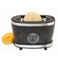 Two Slice Toaster, Black