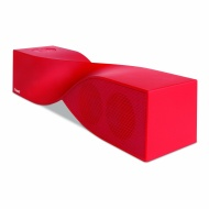 iSound Twist Bluetooth Wireless Mobile Speaker (Red)