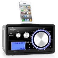 Auna Musio Radio de internet base iPod y adaptador Bluetooth