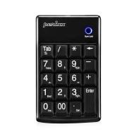 Perixx PERIPAD-201B, Tastierino numerico - USB - Scheda Caratteristica fondamentale - Full Size 19 Keys - Big stampare lettere - Silent X Scissor Type
