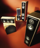 Revel Performa surround speaker system