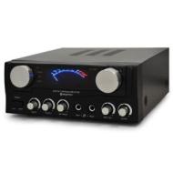 Skytronic Compact Hi Fi PA Amplifier 2x Mic Inputs 400W