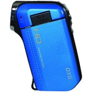 DXG 5.0 Megapixel 2.4 in. LCD Screen 720p HD Camcorder - Blue