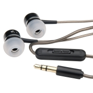 MobileSpec In-Ear Headphones with 3 Eartips and Gold-Plated 3.5mm Plug for iPods/MP3 Players