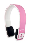 Syba CL-AUD23031 Bluetooth V2.1 Sport Band Stereo Headset - Retail Packaging - Pink