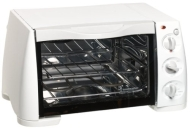Toastmaster 357S 0.37-Cubic-Foot Cool Wall Toaster Oven/Broiler with 2-Hour Timer