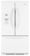 MFI2067AES Ice2O French Door 20 Cu. Ft. Refrigerator (Bottom Freezer, Stainless Steel, Energy Star)