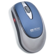 Micro Innovations Wireless Optical Pro Mouse - Mouse - optical - 4 button(s) - wireless - RF - USB / PS/2 wireless receiver