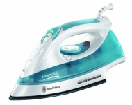 Russell Hobbs White & Blue 15081 Steamglide 2400W Iron