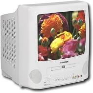 "Sansui CDVD1300W 13"" TV/DVD Combo"