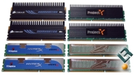 Corsair, Kingston, OCZ, Super Talent DDR3 1800MHz Memory Kits