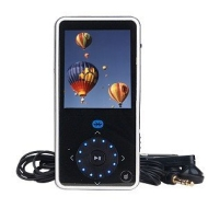 Insignia Pilot with Bluetooth NS-8V24 - Digital player / radio - flash 8 GB - WMA, Ogg, MP3, WMAPro, protected WMA (DRM 10) - video playback - displa