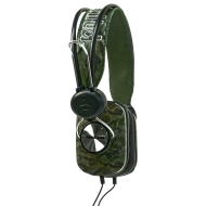 Marc Ecko Unltd EKU-PLS-CMG Pulse Over-the-Ear Headphones (Camo Green)
