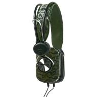 Marc Ecko Unltd EKU-PLS-CMG Pulse Over-the-Ear Headphones (Camo Green)