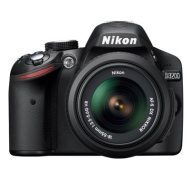 Nikon D3200 Black Digital SLR with 18-55mm VR Lens