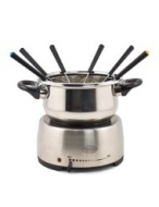 Nostalgia Electrics Stainless Steel Fondue Pot FPS200