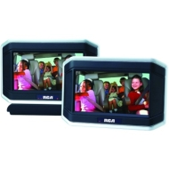 "RCA 8"" Dual Screen DVD System"