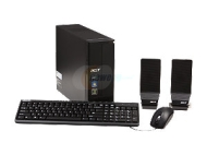 Acer AX1420-U5832 Refurbished Desktop PC Athlon II X4 645(3.1GHz) 4GB 1TB HDD Capacity Windows 7 Home Premium 64-Bit