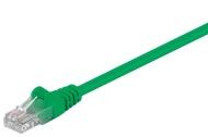 Netzwerkkabel 1m grün, CAT5.e