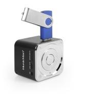 MusicMan TXX3527 Mini Soundstation (MP3 Player, Loudspeaker, Line In function, SD/microSD cardslot) black