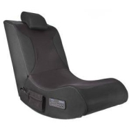 Wireless 2.4Ghz Foldable Gaming Chair w/ Built in Sub Woofer, Surround Sound Speakers & Adjustable Headrest
