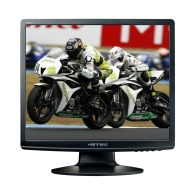 19in LCD HannsG HA191DP 1280x1024 Black DVI-D 5ms DSub 4:3 TFT Monitor with Speakers