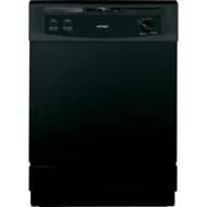 Hotpoint 24-Inch Built-In Dishwasher (Color: Black) ENERGY STAR HDA2000VBB