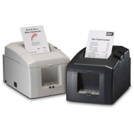 Star TSP 654 - Receipt printer - two-color - direct thermal - Roll (3.15 in) - 203 dpi - up to 354.3 inch/min - Parallel
