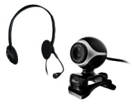 Trust Exis Chatpack - includes Webcam and Headset with Microphone