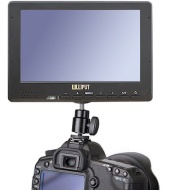 "Lilliput 667GL-70NP/H/Y 7"" LCD Portable Small Field Monitor 1080p full HD w/ HDMI, YPbPr, RCA Video Inputs for professional video cameras by Koolertro"