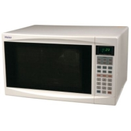 Haier MWG10081TW - Microwave oven with grill - freestanding - 28.3 litres - 1000 W - white
