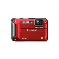 Panasonic Lumix FT3 Waterproof and Shockproof / 12.1 Megapixel / 4.6x Optical Zoom / 2.7 inch LCD / Digital Camera / Red
