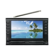 Sylvania SRT702A 7-Inch Dual Tuner Portable LCD TV