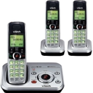 Vtech DECT 6.0 Cordless 3-Handset Phone System w/ Push-to-Talk
