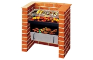 Built-in Grill and Bake Charcoal BBQ