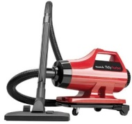 Readivac 36010 Tiny Turbo 1000-Watt Canister Vacuum, Red